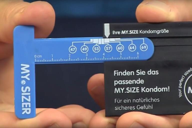 Kondomgrößen Kondomgröße berechnen
